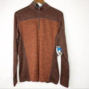 KUHL Ryzer Quarter Zip Shirt NWT in Size Medium